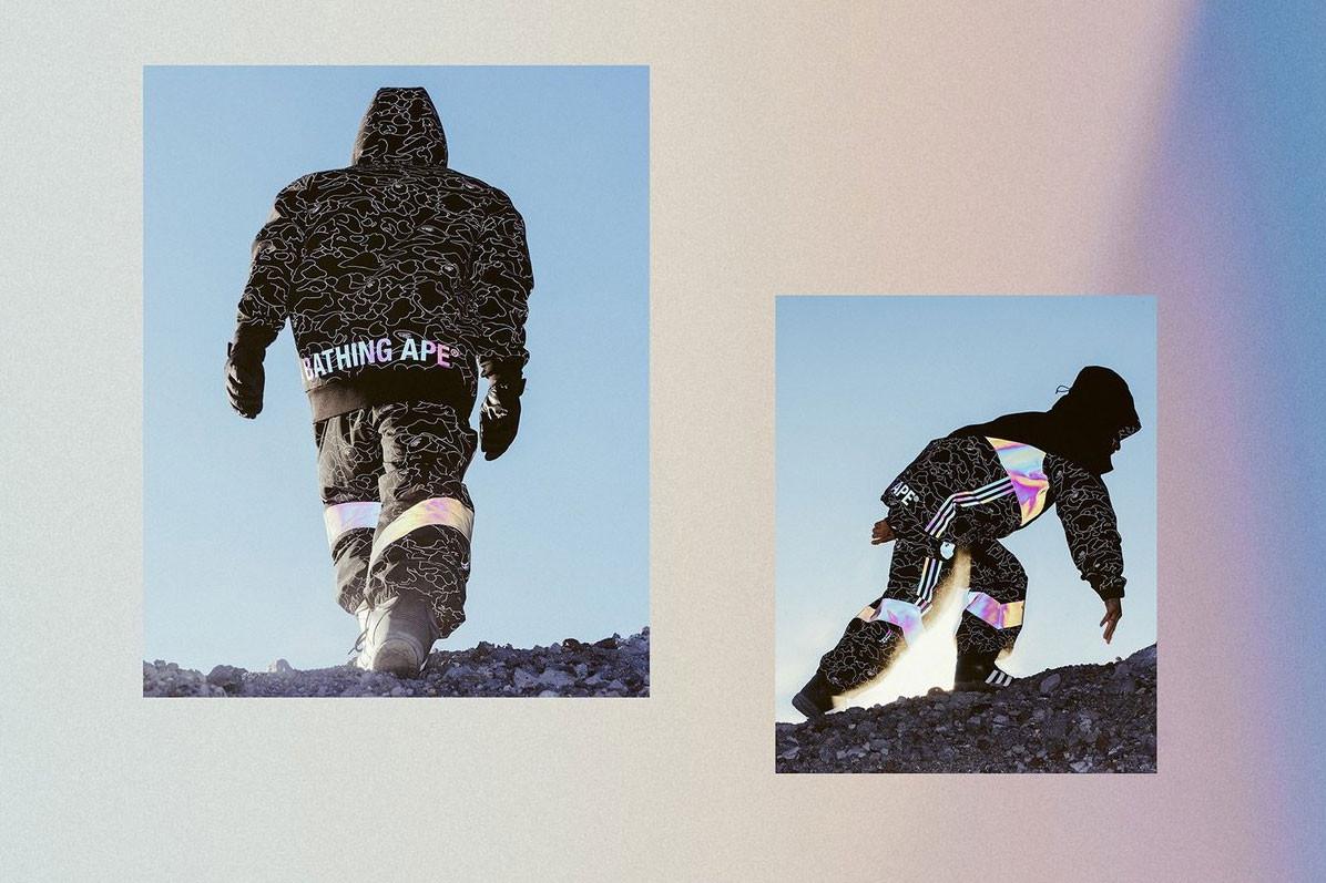 Nézd és ámulj a BAPE és az Adidas snowboardos